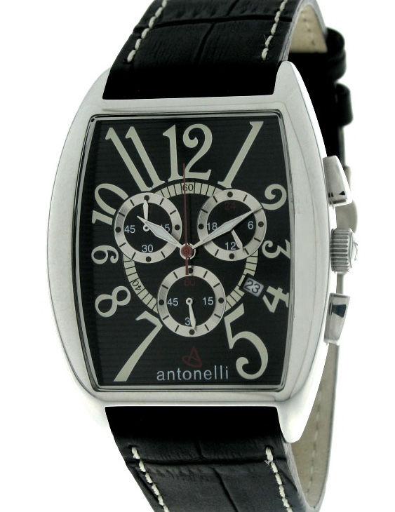 Reloj ANTONELLI 91-0006 Cronografo Correa Piel Hombre