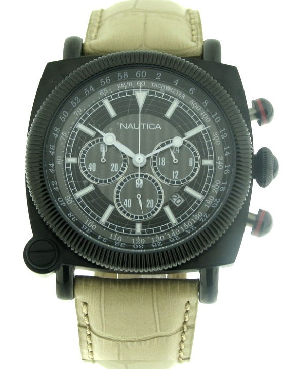 Reloj NAUTICA A44043G Cronografo Correa Piel Hombre