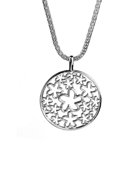 Collar VIDAL&VIDAL X2354780 Metal Antialérgico con Baño de Plata Mujer
