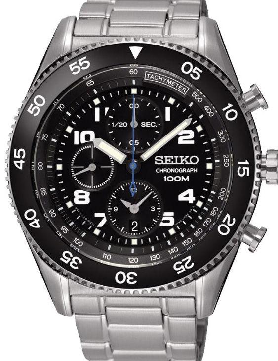 Reloj Seiko SNDG59P1 NEO SPORT Cronografo Brazalete Acero Hombre