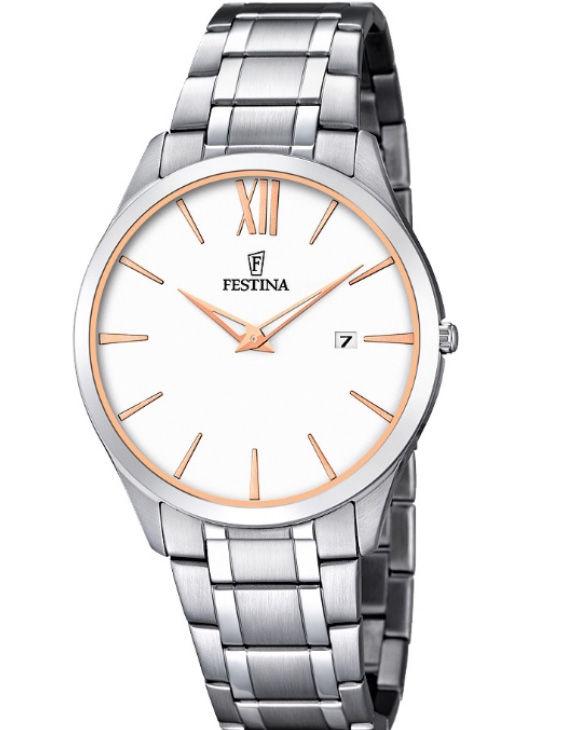 Reloj FESTINA F6832/3 CLASSIC Brazalete Acero Hombre