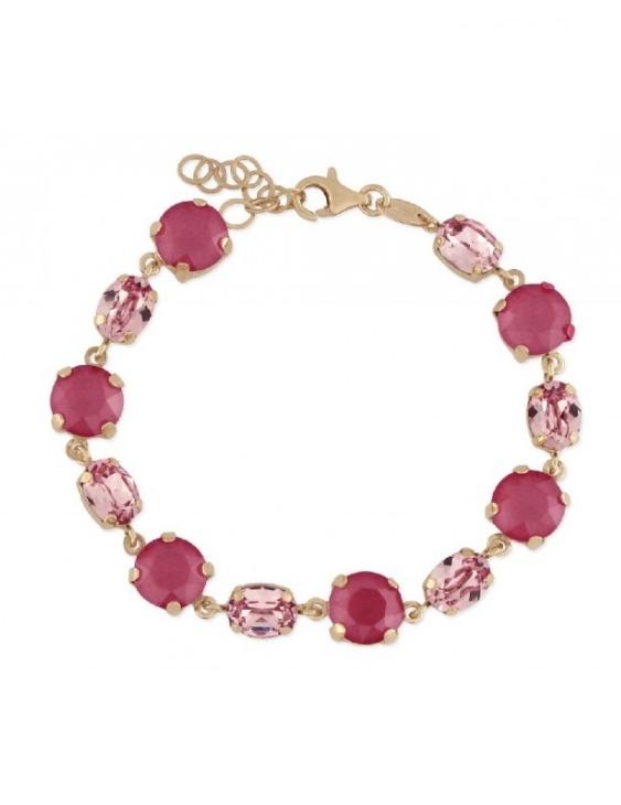 Pulsera LISKA LSW2394BR-R Plata Chapado Oro Rosa con Circonitas Mujer