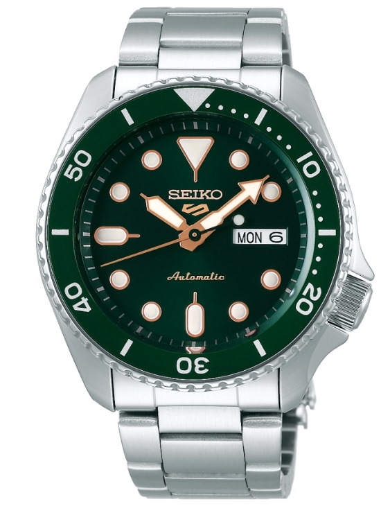 Reloj Seiko SRPD63K1 5 SPORTS Automatico Acero Hombre