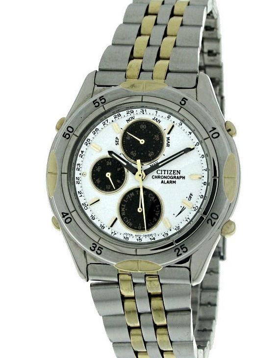 Reloj CITIZEN AI-2464-55A Cronógrafo Brazalete Acero Bicolor Hombre