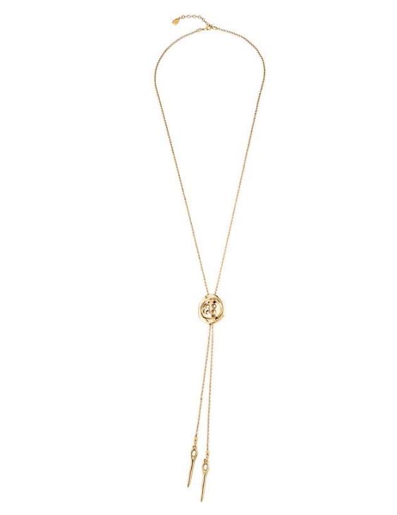 Collar UNO DE 50 COL1555ORO000U Metal con Baño de Oro Mujer