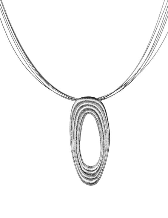 Collar ARQUE PE2103 Plata Mujer