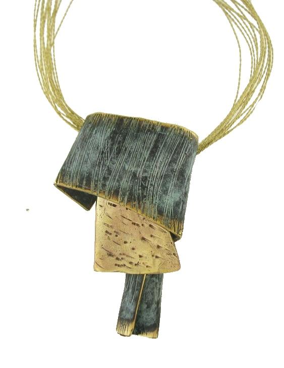 Collar FILI PLAZA FP C118-BV Bronce Mujer