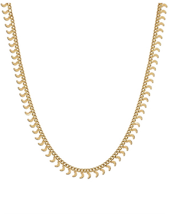 Collar VIDAL&VIDAL X4604838 Metal Antialérgico con Baño de Oro Mujer