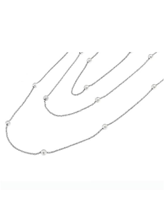 Collar COR2035L Plata Mujer