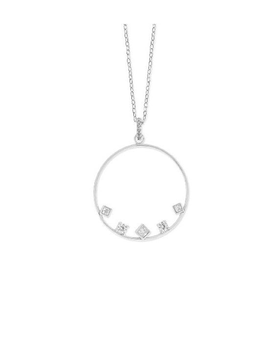Collar LISKA LAD7043CL Plata con Circonitas Mujer