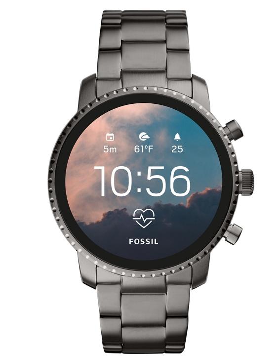 Reloj FOSSIL FTW4012 Smartwatch  EXPLORIST HR SMARTWATCH Acero Hombre