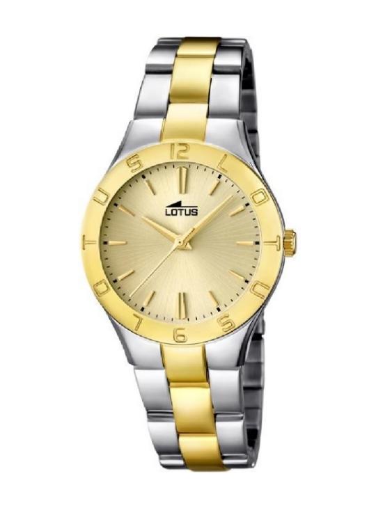 Reloj LOTUS 15896/1 TRENDY Brazalete Acero Bicolor Mujer