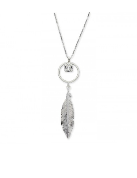 Collar LISKA SWAROVSKI ELEMENTS LSW4192CL Plata Mujer