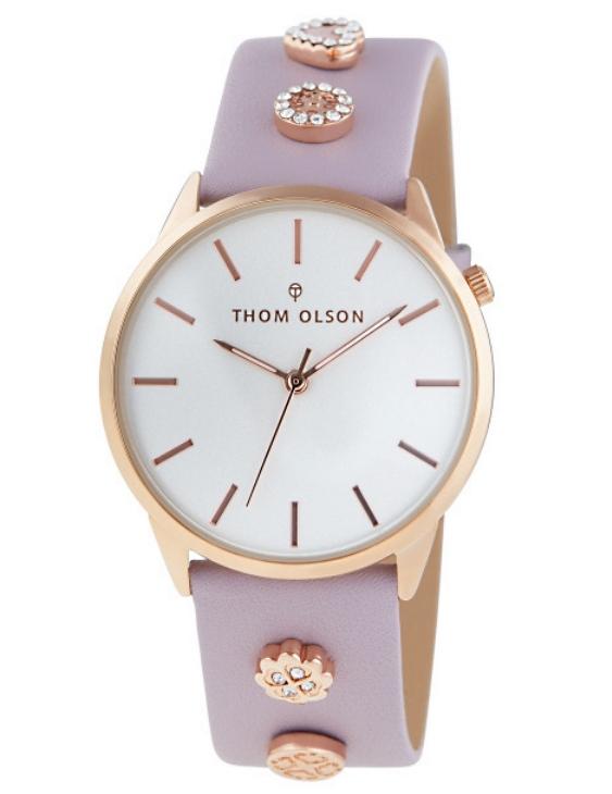 Reloj THOM OLSON CTBO013 Alloy Correa Piel Mujer.