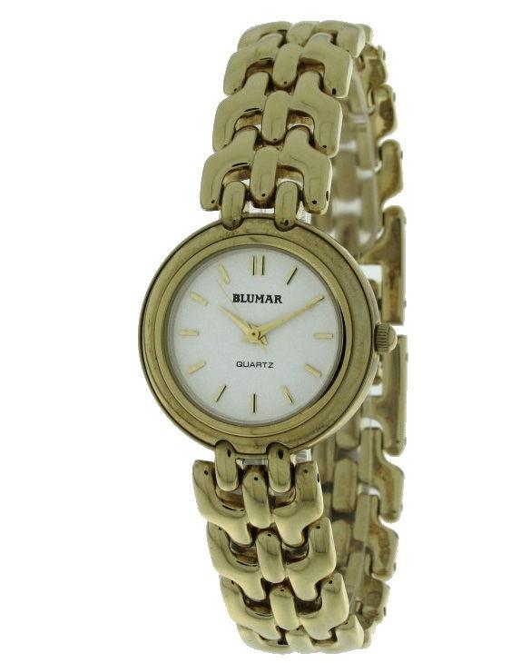 Reloj BLUMAR 7540011-2 Brazalete Acero Chapado Oro Mujer