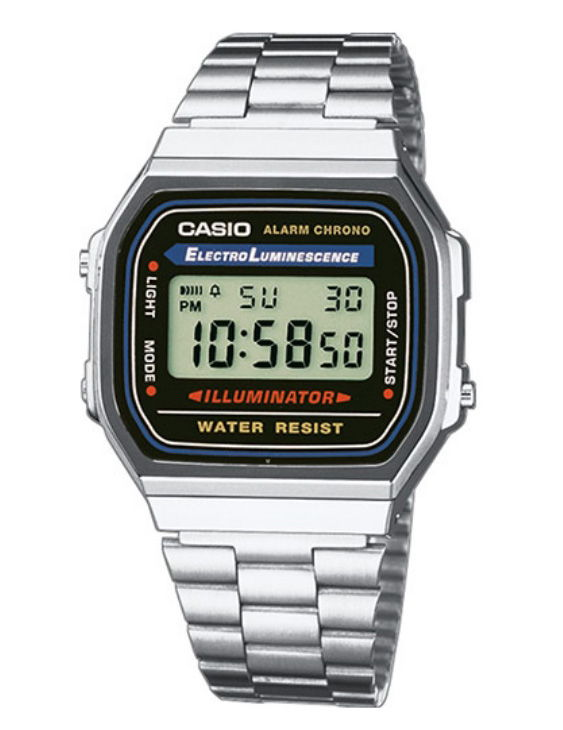 Reloj CASIO A168WA-1YES Digital Unisex