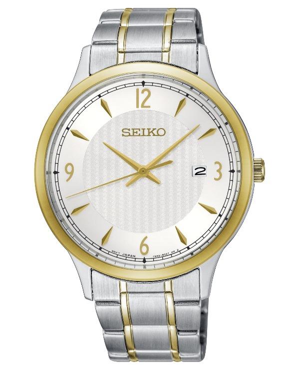 Reloj SEIKO SGEH82P1 NEO CLASSIC Acero Bicolor Hombre