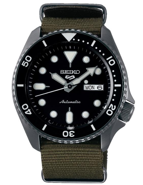 Reloj Seiko SRPD65K4 5 SPORTS Automatico Acero Hombre