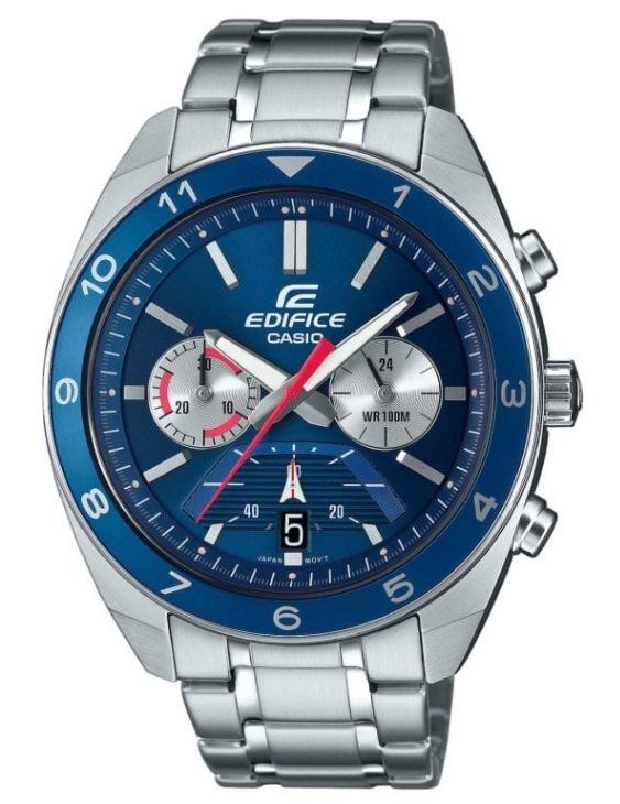 Reloj CASIO EFV-590D-2AVUE FEDIFICE Cronógrafo Acero Hombre
