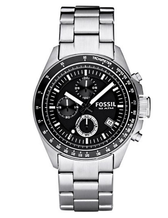 Reloj FOSSIL CH2600IE DECKER Cronografo Acero Hombre