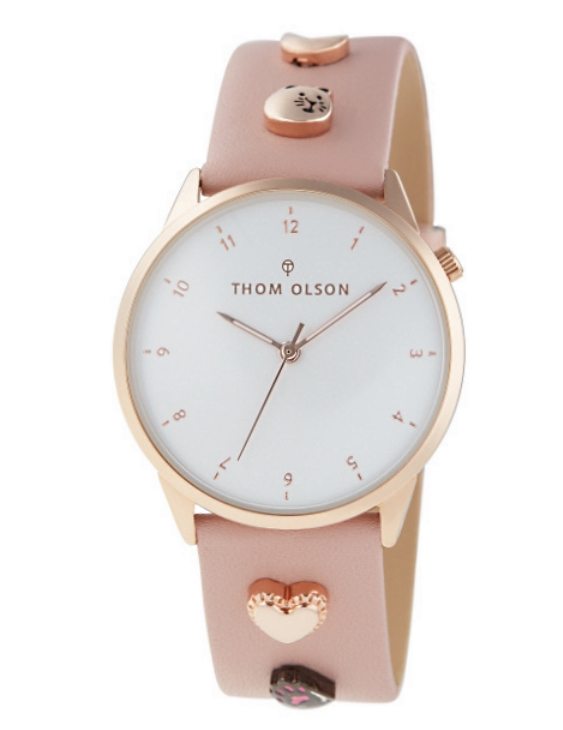 Reloj THOM OLSON CTBO023 Alloy Correa Piel Mujer.