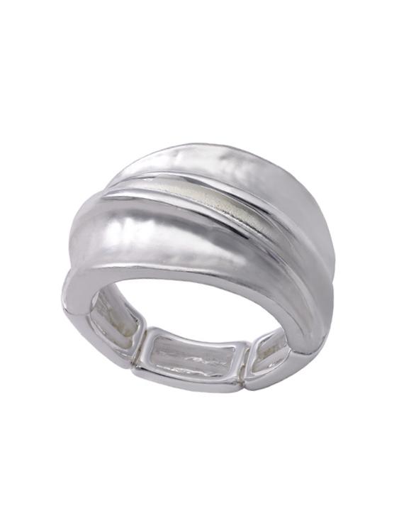 Anillo ANTONELLI 690151 Metal Antialérgico Plateado Mujer