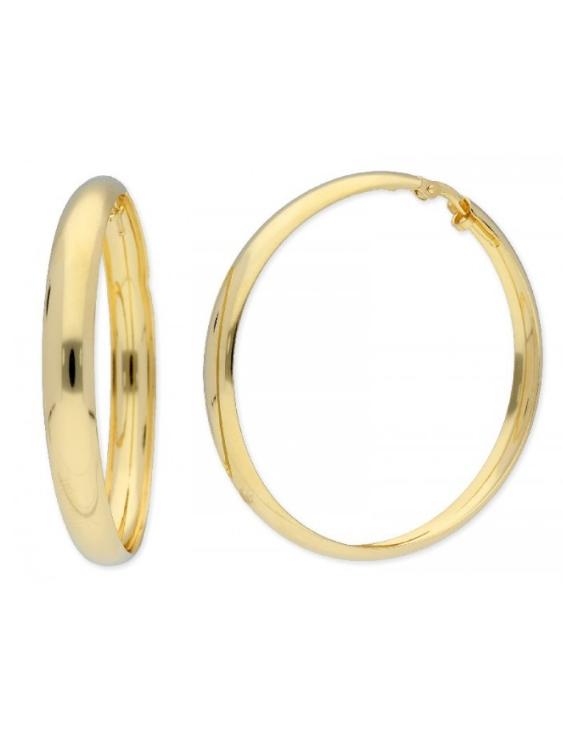 Pendientes LAF2095A Plata con Baño der Oro Mujer