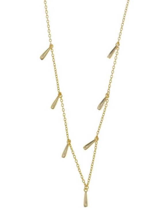 Collar SALVATORE 213C0085 Plata con Baño de Oro Mujer.