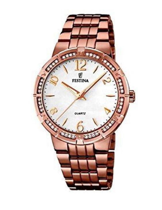 Reloj FESTINA F16797/3 MADEMOISELLE Brazalete Acero IP Marron Mujer