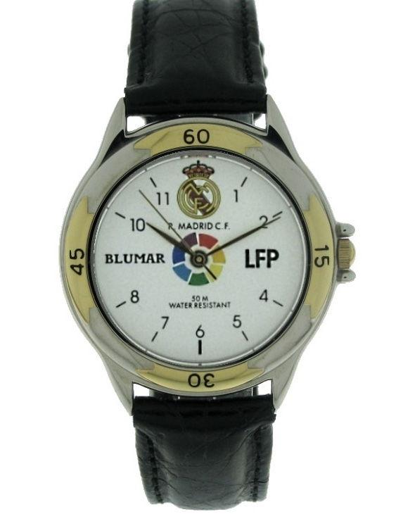 Reloj BLUMAR 200-ESPA-1 REAL MADRID Correa Piel Hombre