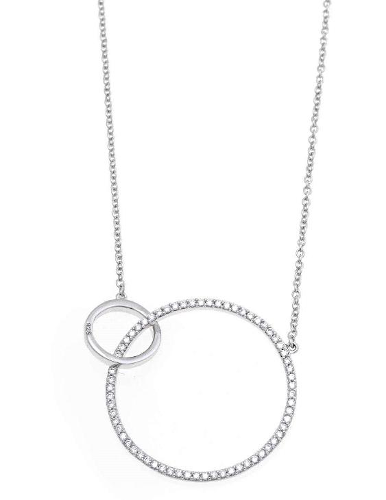 Collar SALVATORE 136C0097 Plata con Circonitas Mujer