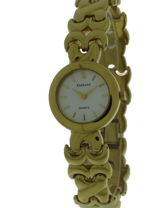 Reloj RADIANT 2961005-3 Brazalete Acero Chapado Oro Mujer