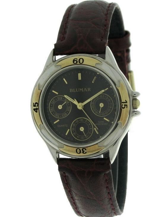 Reloj BLUMAR 9630042-1 Multifuncion Correa Piel Mujer