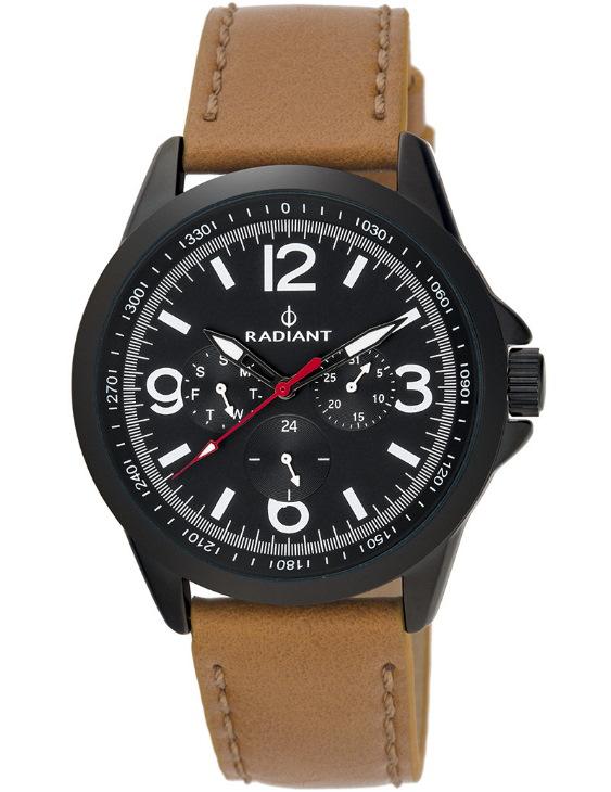 Reloj RADIANT RA413703 NEW DISCOVERY Multifunciones con Correa de Piel Hombre