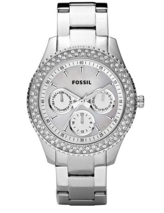 Reloj FOSSIL ES2860 STELLA Acero con Swarovski Mujer