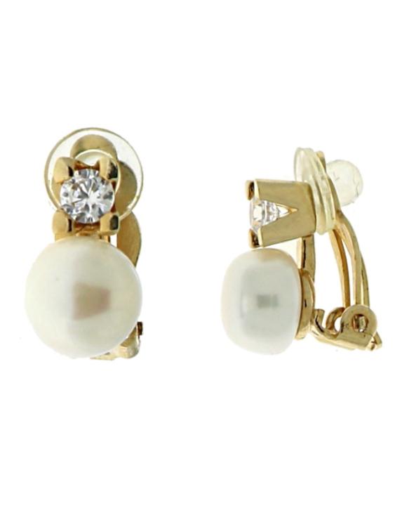 Pendientes VIDAL&VIDAL G2354 Metal Antialérgico con Perlas Cultivadas Mujer
