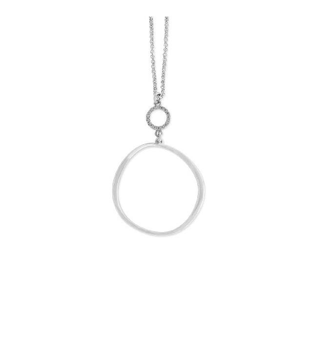 Collar LISKA LAD6022CL Plata con Circonitas Mujer