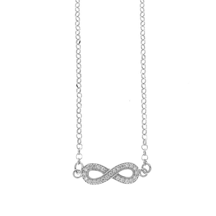 Collar LISKA LAD1011CL Plata con Circonitas Mujer