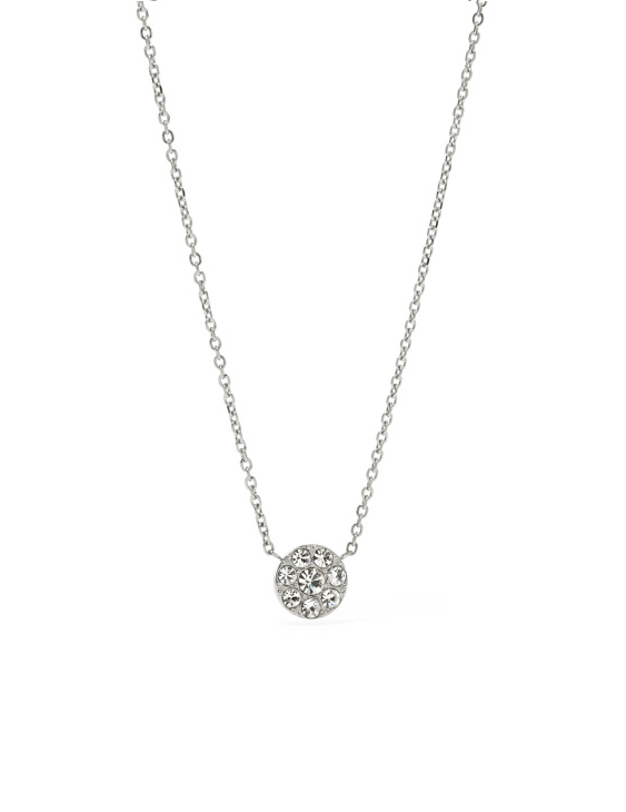 Collar FOSSIL JF00844040 VINTAGE GLITZ Acero con Swarovski Mujer