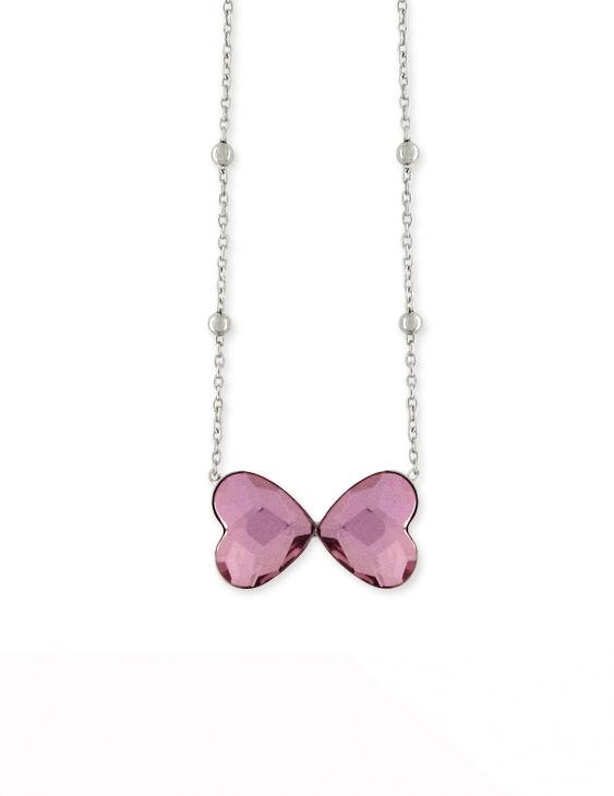 Collar LISKA LSW2225CL-R Plata con Circonitas Mujer