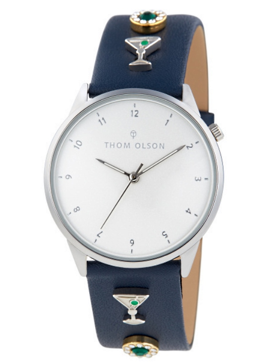 Reloj THOM OLSON CTBO007 Alloy Correa Piel Mujer.