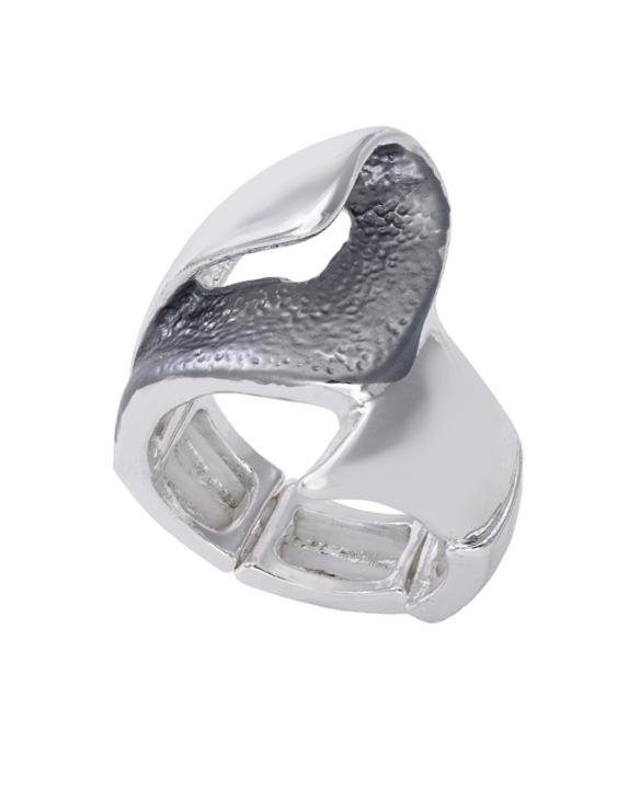 Anillo ANTONELLI 690156 Metal Antialérgico Plateado Mujer