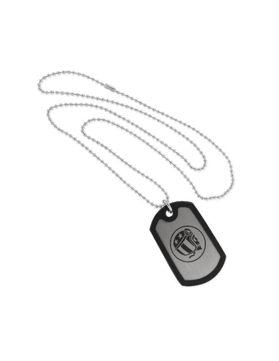 Collar SCULL RIDER SR001 Acero