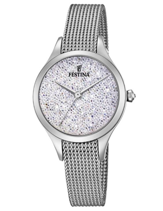 Reloj FESTINA F20336/1 MADEMIOSELLE Acero con Cristales Mujer