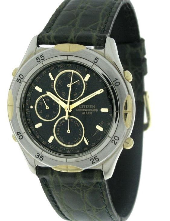 Reloj CITIZEN AI2464-04W Cronografo Correa Piel Hombre