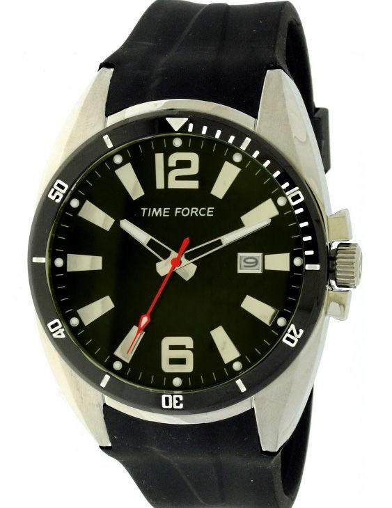 Reloj TIME FORCE TF4055M01 Correa Caucho Hombre