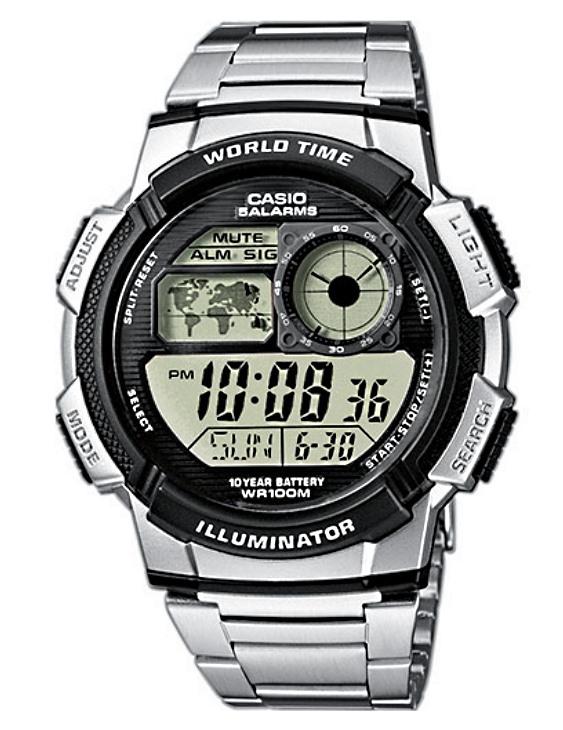 Reloj CASIO AE-1000WD-1AVEF Digital Hombre