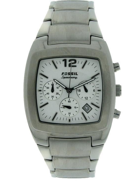 Reloj FOSSIL FS3074 Cronografo Brazalete Acero Hombre