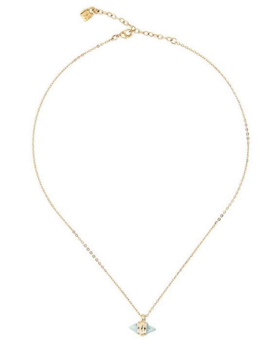 Collar UNO DE 50 COL1527MCLORO0U Metal con Baño de Oro Mujer
