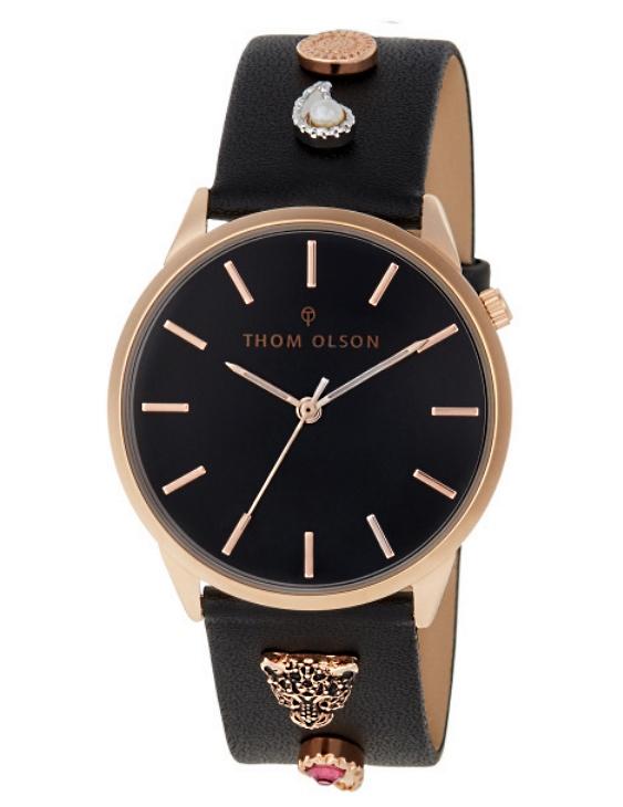 Reloj THOM OLSON CTBO021 Alloy Correa Piel Mujer.